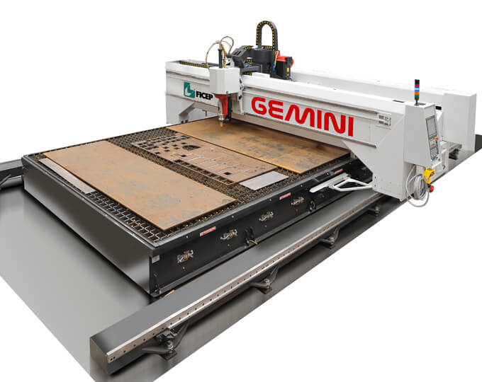 Gantry Plate Processing – GEMINI