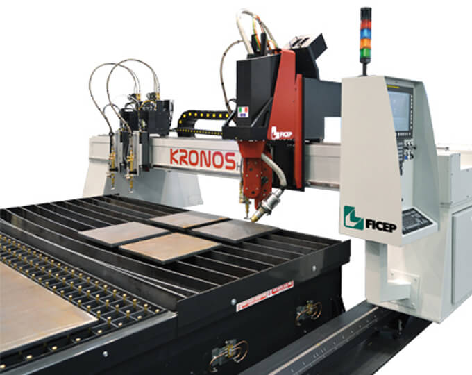 Plate cutting system – KRONOS